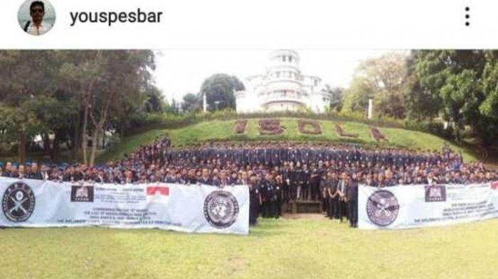 Beredar foto screenshoot sebuah akun yang mempost Sunda Empire di pesan singkat WA