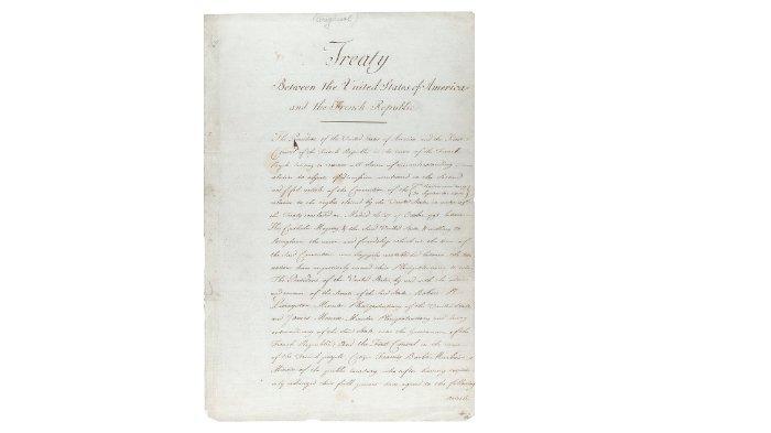 Surat perjanjian pembelian Lousiana