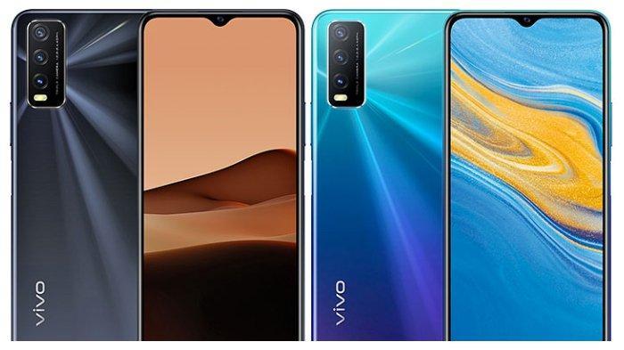 Tampilan ponsel pintar Vivo V20s