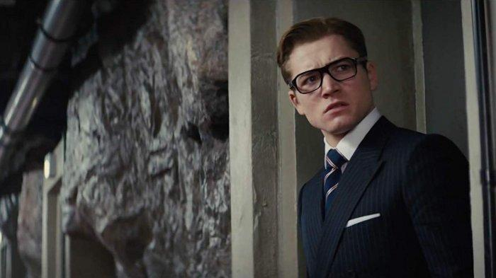 Taron Egerton dalam film Kingsman: The Secret Service (2014)
