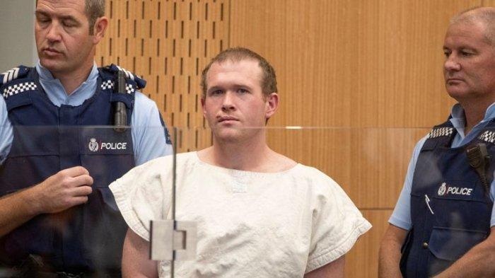 Tarrant Brenton, teroris penembakan di Selandia Baru kirim surat dari balik jeruji