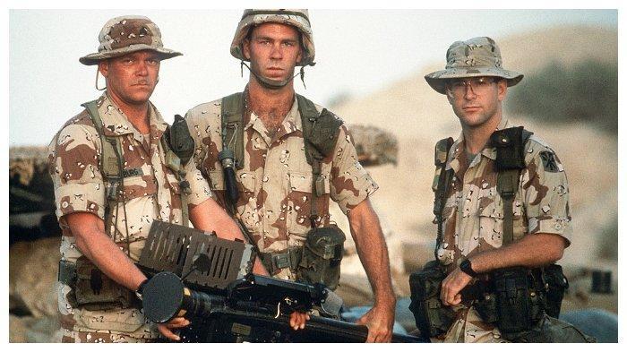 Tentara Amerika yang bertugas selama Perang Teluk Persia