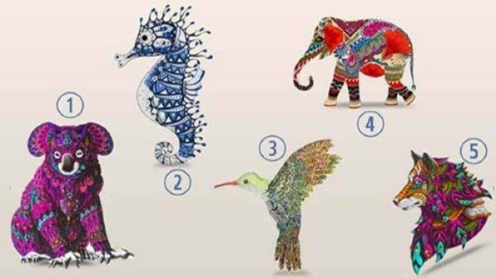Tes Kepribadian - Hewan yang Kamu Pilih Ungkap Karaktermu, Koala, Gajah atau Serigala?