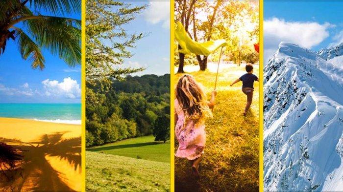 Tes Kepribadian - Pemandangan Alam yang Anda Pilih Ungkap Karaktermu dalam Melihat Dunia
