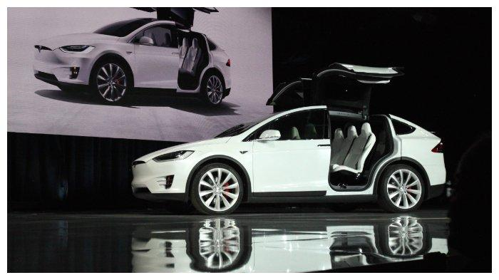 Dites Bppt Tesla Model X Lebih Irit 3 Kali Lipat Dibanding Mobil Bbm Tribunnewswiki Com Mobile