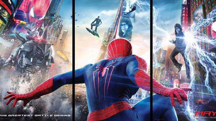 Sinopsis Film The Amazing Spider Man 2 Tayang Malam Ini Pukul 19 00 Wib Di Bioskop Spesial Transtv Tribunnewswiki Com Mobile