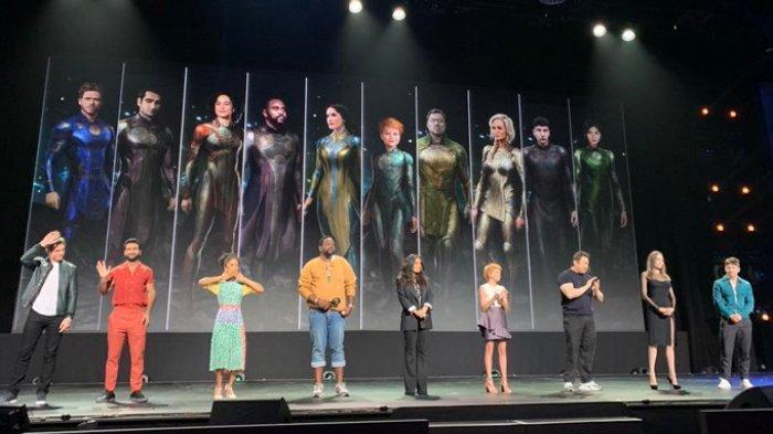 Pemeran film The Eternals yang akan tayang pada 2020 mendatang