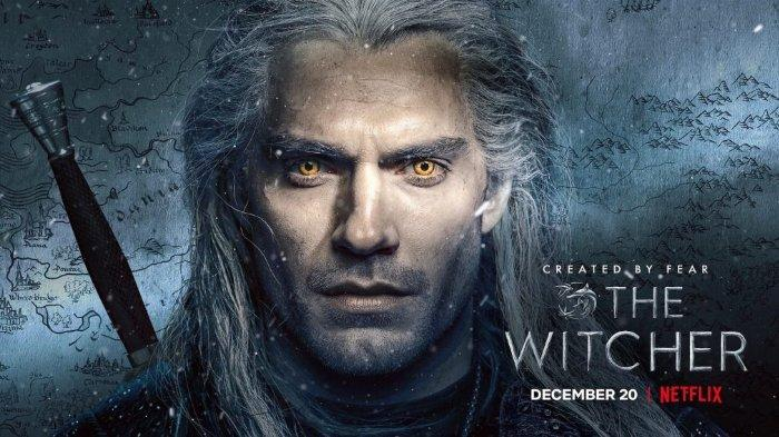 The Witcher, Geralt of Rivia diperankan oleh Henry Cavill.