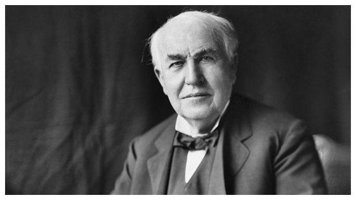 Thomas Edison pada tahun 1922
