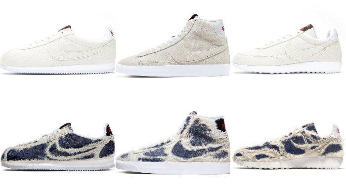 Ilustrasi sepatu Nike.
