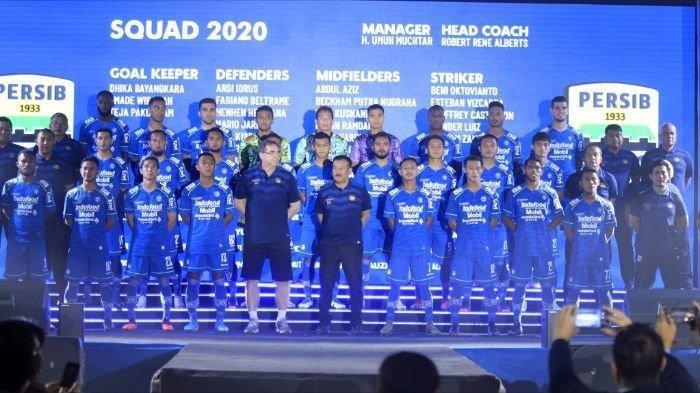 Tim Persib Bandung di Liga 2020.