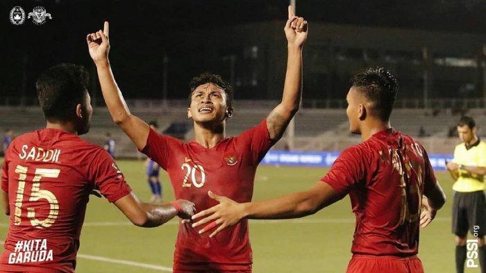 Osvaldo Haay menjadi top score kala kontra Thailand dan Singapura di SEA Games 2019.
