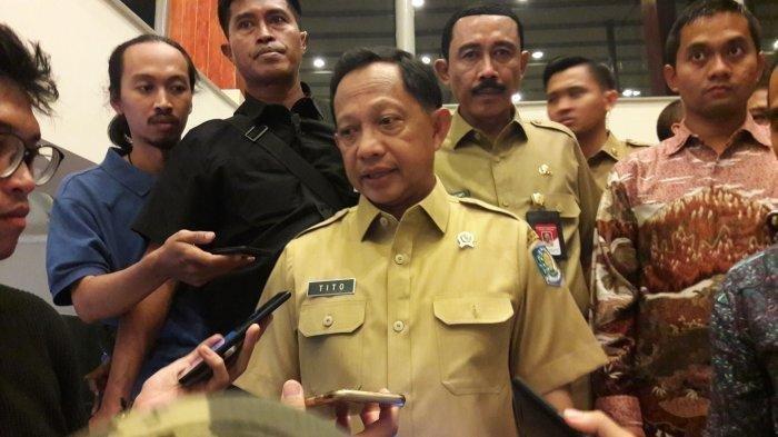 Dalam sebuah pidatonya di depan Anies Baswedan, Tito Karnavian bahkan terang-terangan menyebut Jakarta seperti kampung jika dibandingan dengan Shanghai. (TribunnewsBogor.com/Naufal Fauzy)
