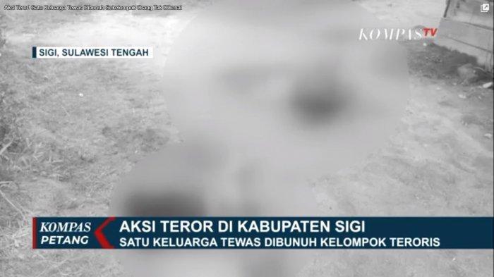 TKP pembunuhan satu keluarga di Desa Lembantongoa, Kecamatan Palolo, Kabupaten Sigi, Sulawesi Tengah, Satuan Tugas Tinombala dikerahkan untuk memburu pelaku.