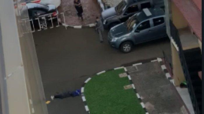 Seorang pria tak dikenal berusaha masuk ke Mabes Polri dan dihujani tembakan oleh petugas