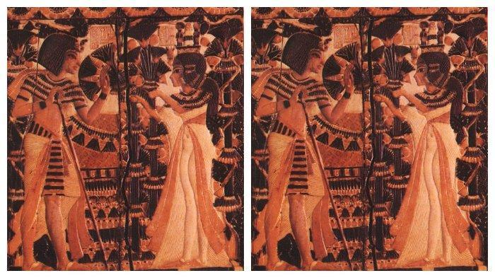 Tutankhamun dan istrinya