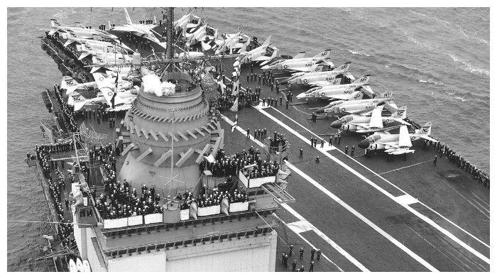USS Enterprise pada 1967
