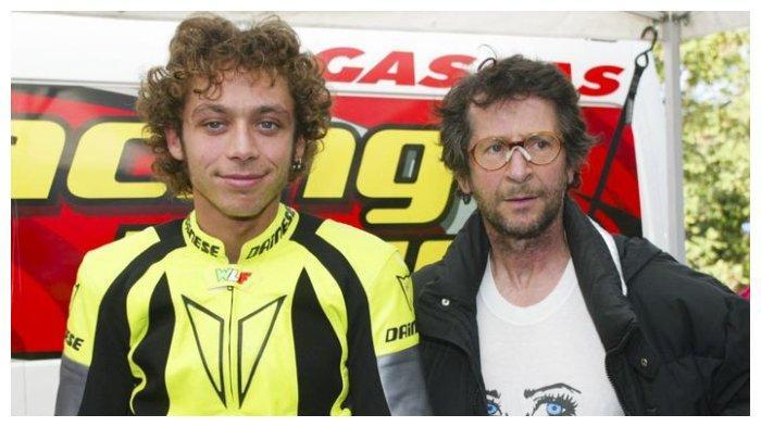 Valentino Rossi dan ayahnya