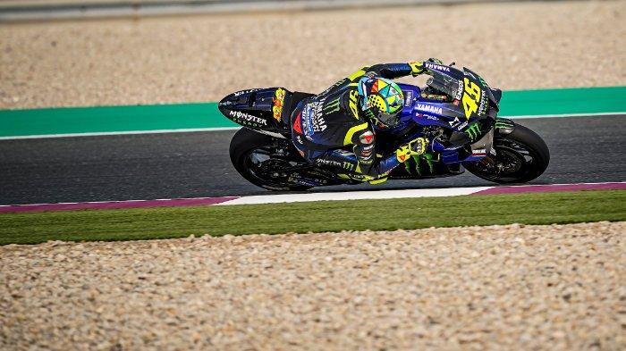 Valentino Rossi hanya menduduki posisi ke-12 pada tes pramusim MotoGP 2020 di Sirkuit Losail, Qatar