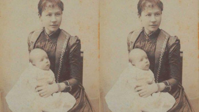 Van Gogh bayi dan Ibunya. (www.vangoghmuseum.nl)