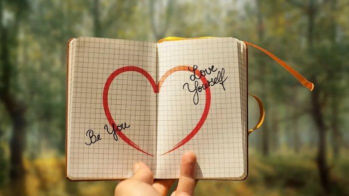 Ilustrasi mencintai diri sendiri.