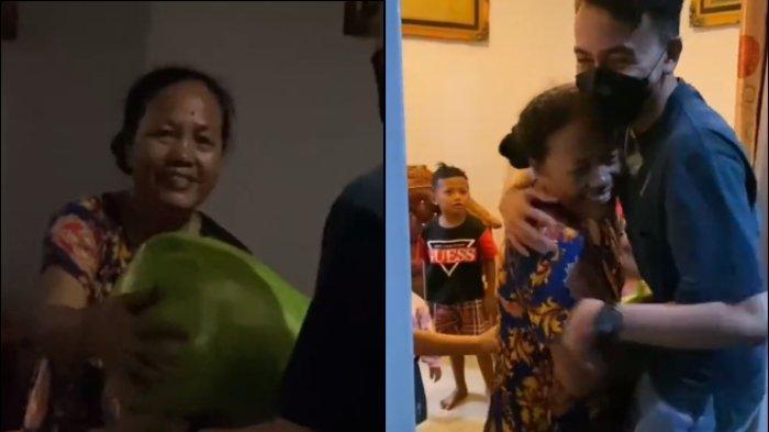 viral anak kejutkan ibu mudik