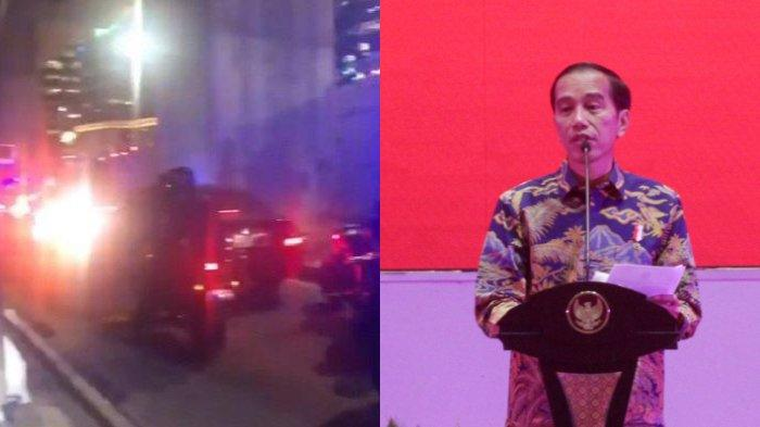 Viral video mobil Jokowi terjebak macet hingga tak dapat bergerak sama sekali.