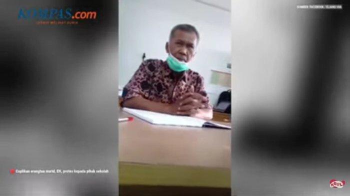 Wakil Kepala SMKN 2 Padang, Sumatera Barat, viral di media sosial Facebook