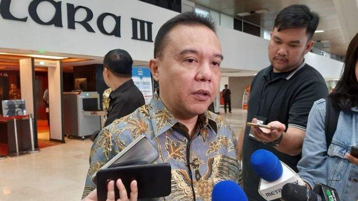 Wakil Ketua DPR Sufmi Dasco Ahmad di gedung DPR, Senayan, Jakarta, Kamis (9/1/2020).(KOMPAS.com/TSARINA MAHARANI)