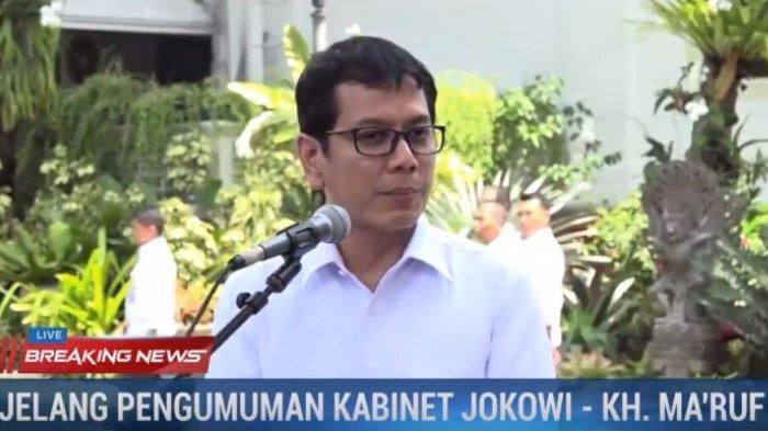 Usai menemui Presiden Joko Widodo di Istana Negara pada Senin (21/10/2019), Wishnutama singgung soal kreativitas dan devisa ketika ditanya jabatan yang ia dapat.