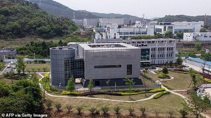 Foto memperlihatkan Institut Virologi Wuhan China. Menteri Luar Negeri Amerika Mike Pompeo mengatakan para pekerja di Institut Virologi Wuhan jatuh sakit dengan gejala mirip Covid pada musim gugur 2019.