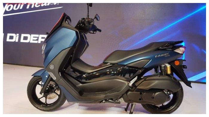 Yamaha All New NMAX 155 dari samping