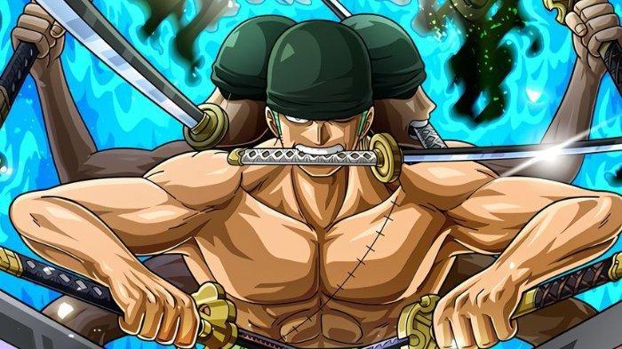Zoro dalam mode Ashura