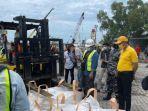 Kementerian ESDM Sita 200 Ton Zirkon Siap Ekspor ke China Melalui Pelabuhan Pangkalabam