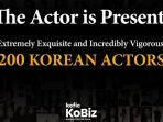 Dewan Film Korea Luncurkan Website The Actor is Present untuk Promosikan 200 Aktor ke Kancah Global