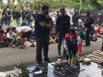 Penggerebekan Kampung Narkoba di Palembang, Polisi Sempat Diserang Pakai Petasan Oleh Para Pelaku