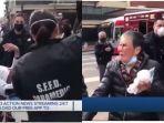 RASISME Amerika Kembali Terjadi: Nenek Asia Dipukul Pemuda, Lawan Balik Hajar Pelaku Sampai Terkapar