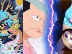 Ringkasan One Piece Chapter 1014: Momonosuke Berhadapan Dengan Kaido dan kena Serangan Kanabo