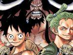 Bocoran One Piece 1009: Luffy Terkena Petir Kaido, Zoro Potong Prometheus dan Big Mom Jatuh ke Laut