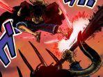 BOCORAN One Piece chapter 1011: Luffy dan Zoro Berhasil Hajar Kaido dengan Haoshoku hingga Berdarah