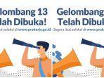 Kartu Prakerja Gelombang 13 Resmi Dibuka, Waspada Situs Palsu, Pendaftaran Hanya di prakerja.go.id