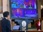 Jokowi Sodorkan UU Cipta Kerja pada Kanselir Jerman untuk Dukung Kerja Sama Investasi