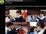 Tim Bulu Tangkis Indonesia Dinyatakan Negatif Covid-19 Lewat PCR, Dipulangkan ke Tanah Air Hari Ini