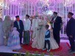 Resepsi Pernikahan Ustaz Abdul Somad Digelar dengan Protokol Kesehatan Ketat, Intip Foto-fotonya