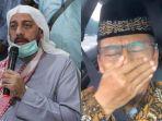 Dengar Kabar Syekh Ali Jaber Meninggal, Aa Gym Terlihat Menahan Tangis saat Berdoa di Dalam Mobil