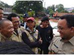 Tanggapi soal Banjir Jakarta, Anies: Pertemuan dan Rapat Batal, Semua Turun ke Lapangan.