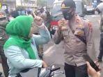 Video Viral Emak-emak Ngaku Istri Jaksa Saat Razia Masker, Nekat Lawan dan Bentak Petugas