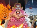 Cerita Anime One Piece 945 Keributan di Penjara Udon Buat Monkey D Luffy Jadi Buronan Big Mom