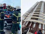 VIDEO Mengagetkan: Bocah Usia 11 Tahun Patah Hati Nekat Terjun dari Lantai 23, Untungnya Selamat