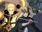 Boruto chapter 52: Mode Terkuat Bahayakan Nyawa Naruto, Manga chapter 53 Diambil Alih Kreator Asli